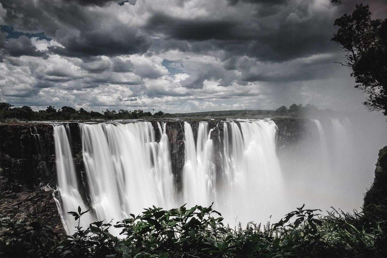 Victoria Falls during the Christmas safari tour