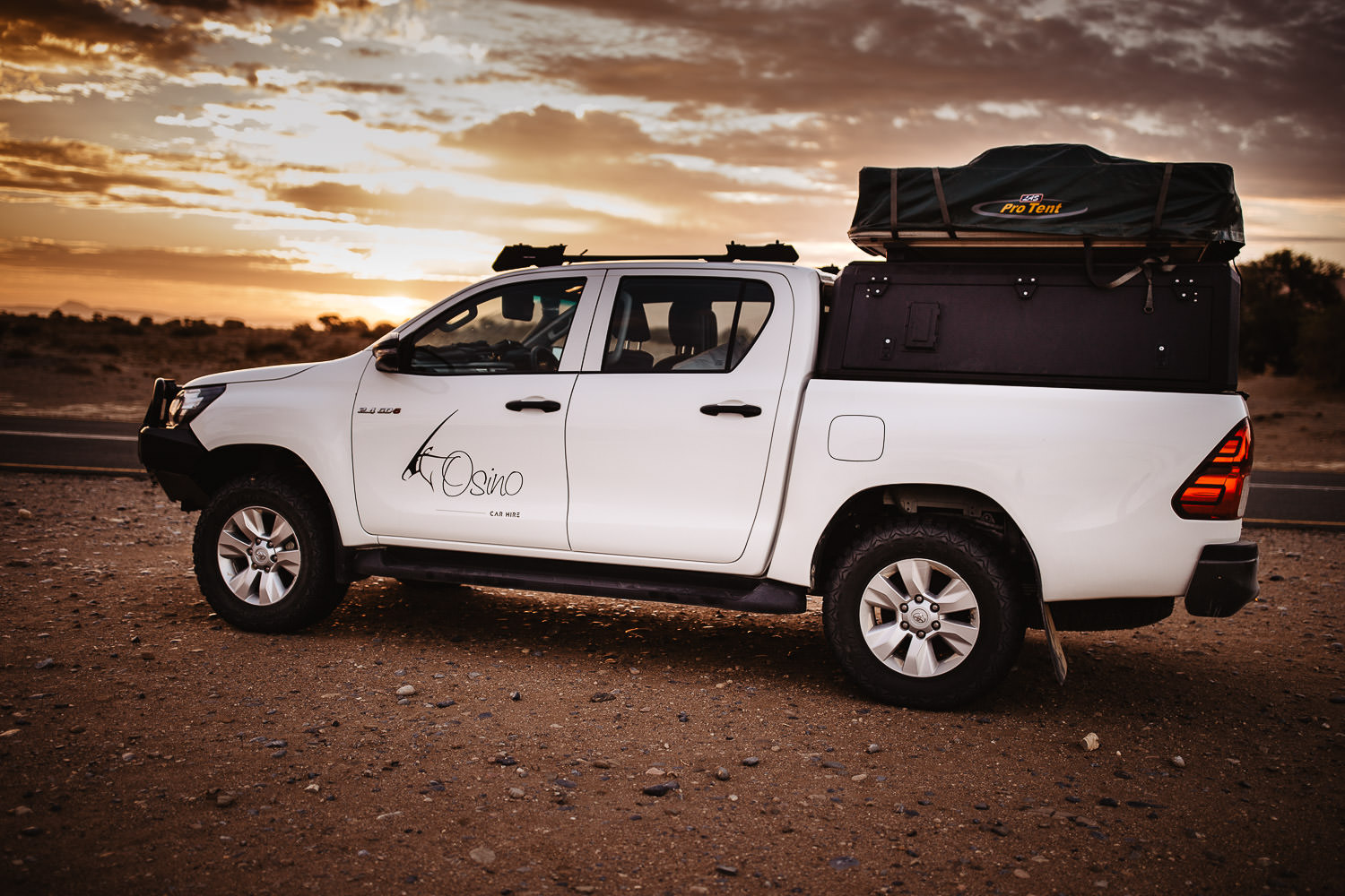 safari adventure namibia tour with a car and rooftop tent